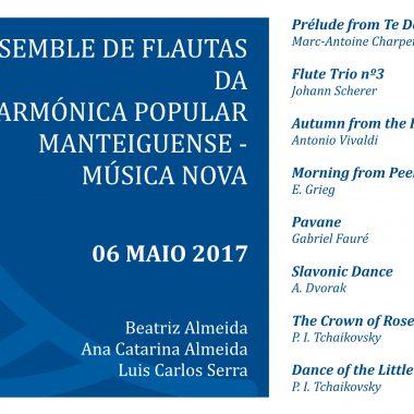 Folha de Sala – Ensemble de Flautas